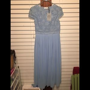 Very nice robins egg blue dress